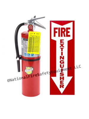 10 Lb Buckeye ABC Fire Extinguisher