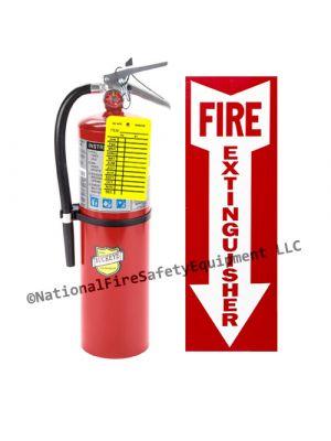 10 Lb Buckeye ABC Fire Extinguisher