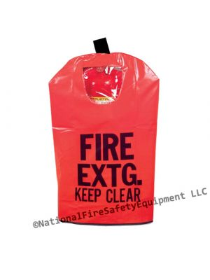 5 Lb to 10 Lb Fire Extinguisher Keep Clear Cover