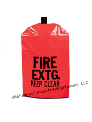 10 - 20 Lb Fire Extinguisher Keep Clear Covers