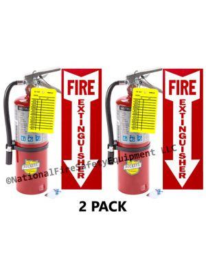 5Lb 2a10bc Fire Extinguisher