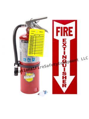 5 Lb Buckeye ABC Hand Held Fire Extinguisher