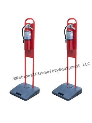 Dry Chemical Fire Extinguisher Stands