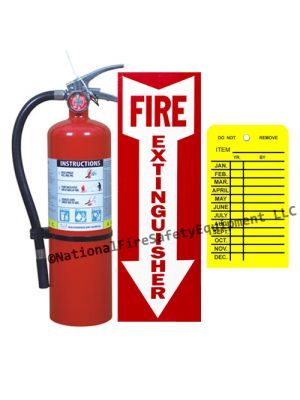 5 Lb Victory ABC Dry Chemical Fire Extinguisher