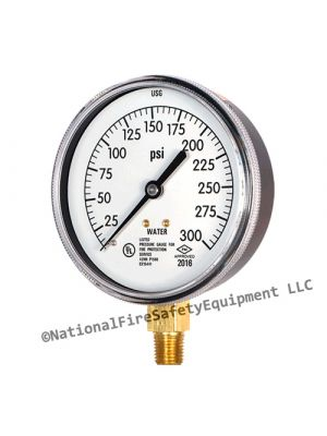 Sprinkler Systems Water Pressure Gauge