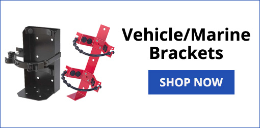 Fire Extinguisher Vehicle Brackets